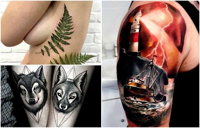 19 самых актуальных сюжетов и идей дизайна татуировок уходящего года