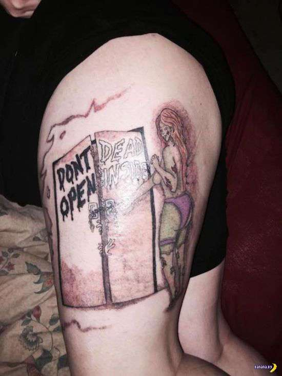 Так себе татуировки...