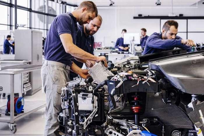 Как собирают Bugatti Chiron