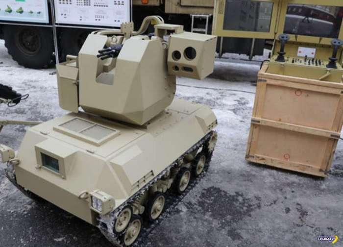 Ударный робот -Нахлебник- из России