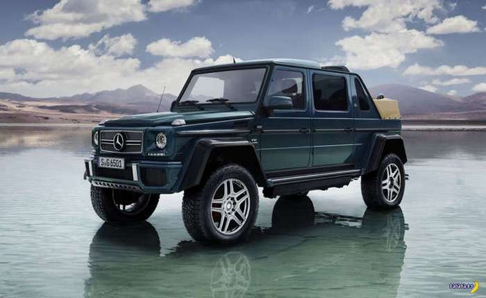 За грибами на Mercedes-Maybach G650 Landaulet