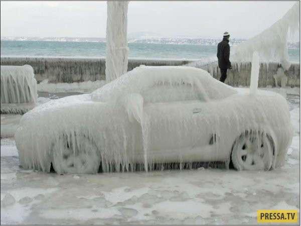 Зимние сюрпризы автолюбителям (29 фото)