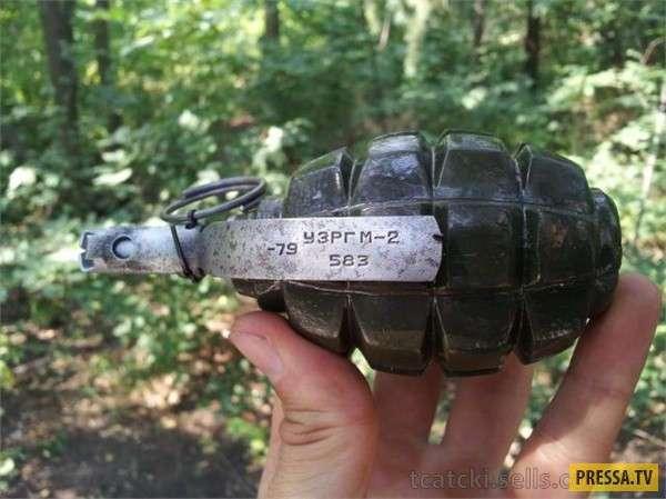 Оружие победы - Ф-1 ручная противопехотная оборонительная граната
