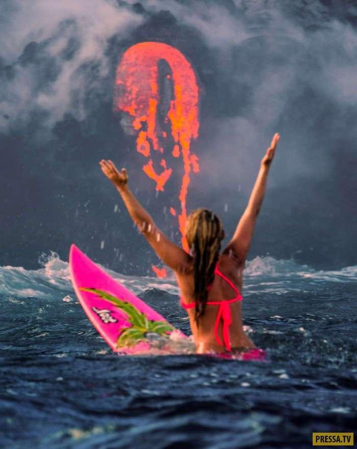 Потрясающие фотографии спортсменов-экстремалов (13 фото)