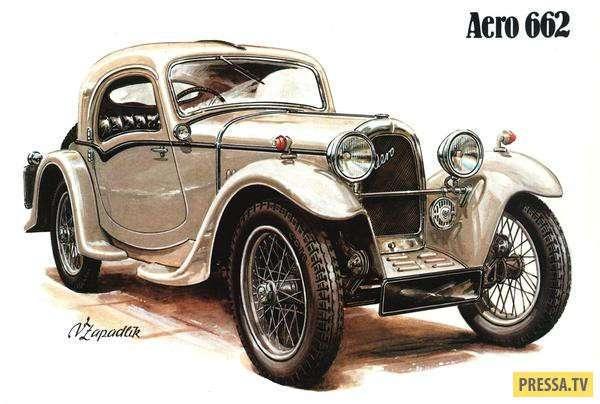 Продукция чехословацкого автопрома (1920-1947 гг.) (15 фото)