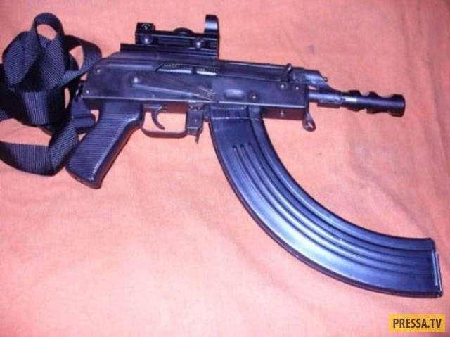 Странное и удивительное на вид оружие (49 фото)
