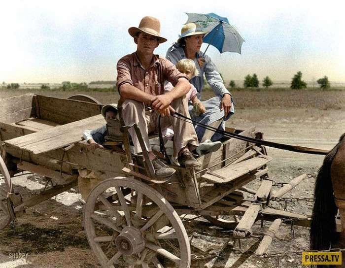 Интересные исторические фотографии в цвете (49 фото)