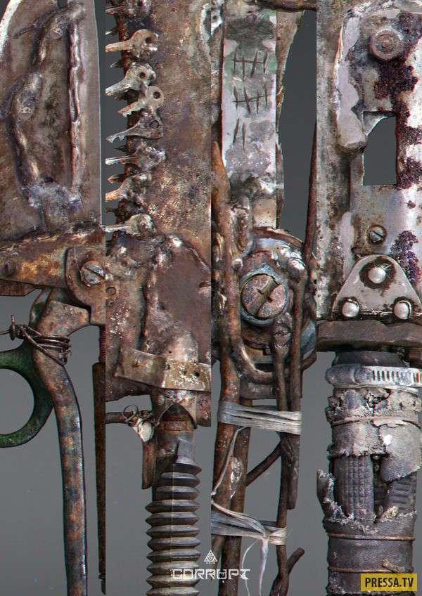 Фантазия на тему постапокалиптического вооружения (11 фото)