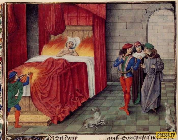 13 нелепых смертей древних правителей