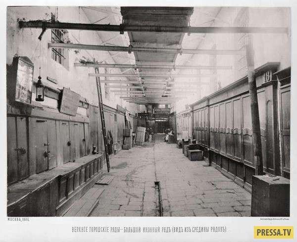 История: Московские городские ряды в 1886 году (32 фото)