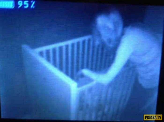 Топ 13: Ужастики с детских камер видеонаблюдения (13 фото)