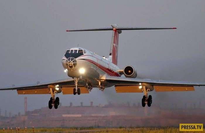 Вымирающий вид - Ту-134Ш (5 фото)