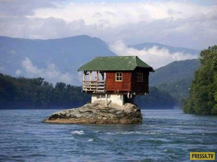 Уникальные и неповторимые дома со всего мира (27 фото)
