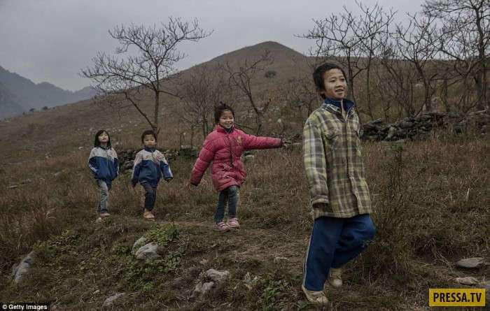 Брошенные дети Китая (35 фото)