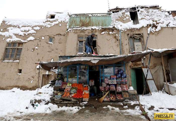 Афганистан зимой, повседневная жизнь людей (20 фото)