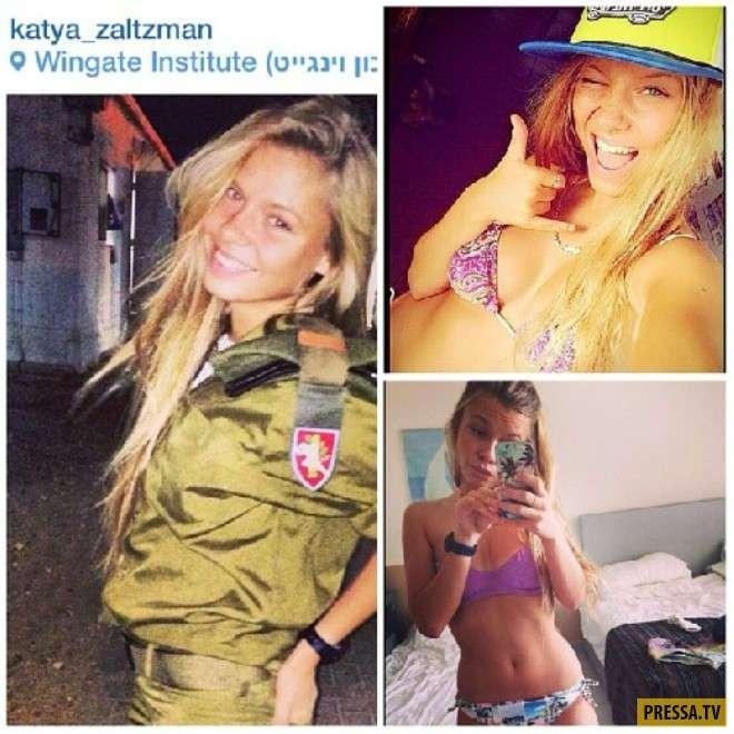 Шикарные солдаты армии Израиля (22 фото)