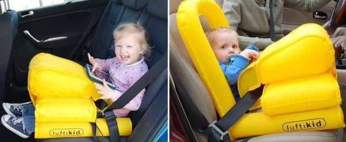 Комплект Luftikid - спасательный жилет для ребенка в автомобиле (4 фото)