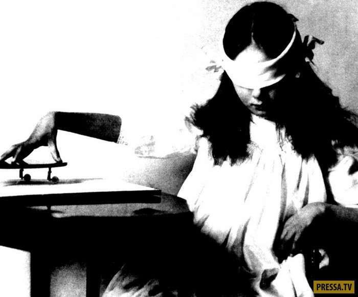 Необычные способности Розы Кулешовой (4 фото)