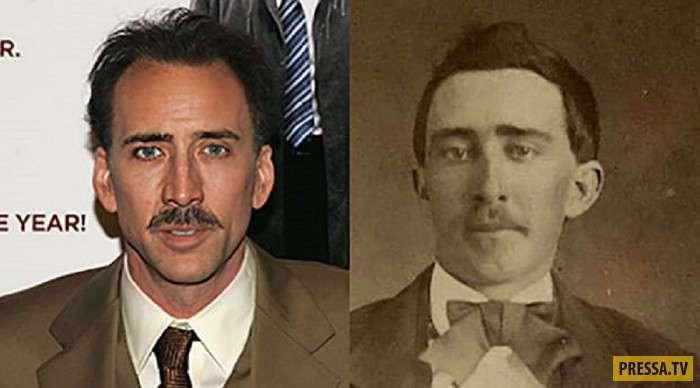 Двойники известных людей из прошлого (10 фото)