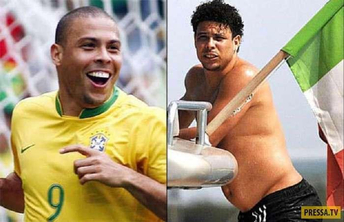 Бывшие спортсмены, которые располнели (11 фото)