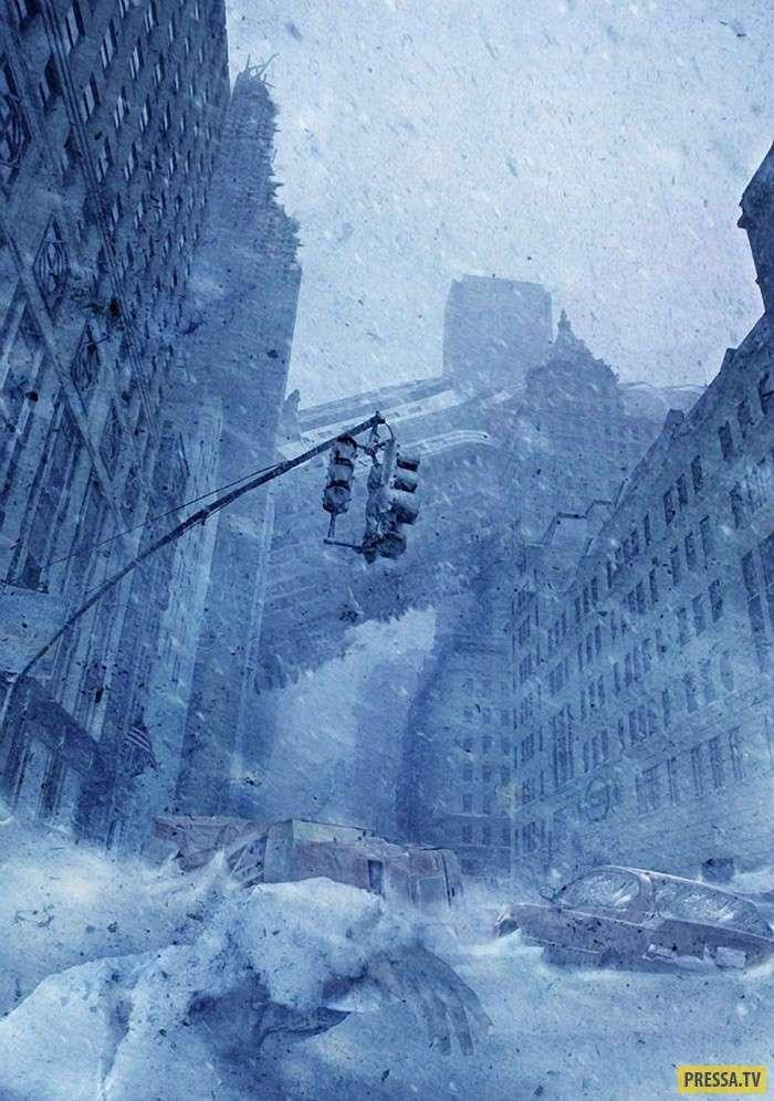 Катастрофические события в работах канадца Стива МакГи (10 фото)