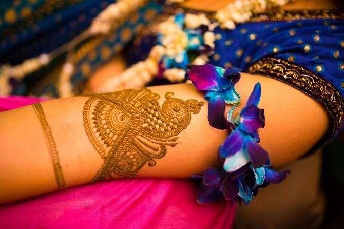 Эти свадебные татуировки индийских девушек - настоящие произведения искусства!