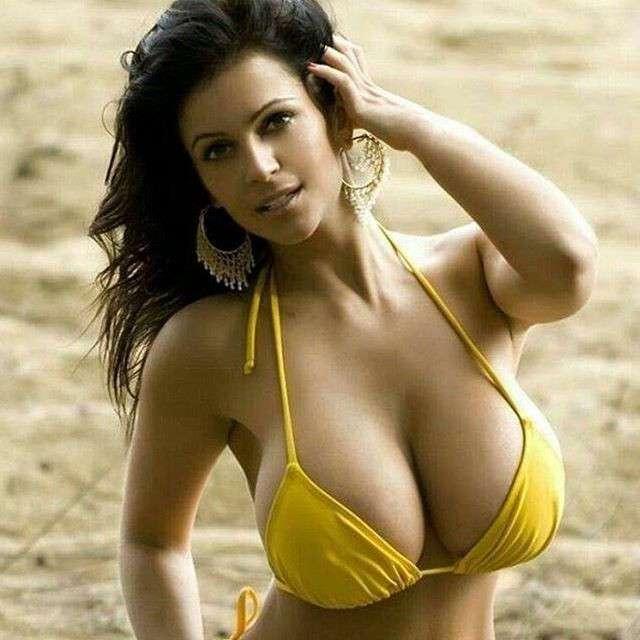 Большая грудь... Разве это красиво?
