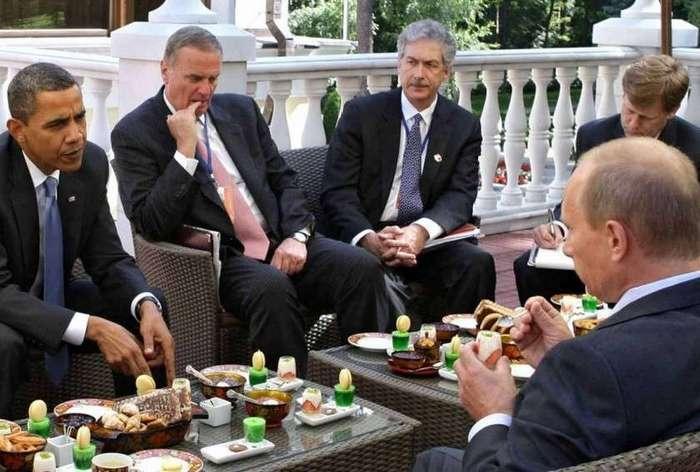 Политики тоже люди и многие просто обожают поесть