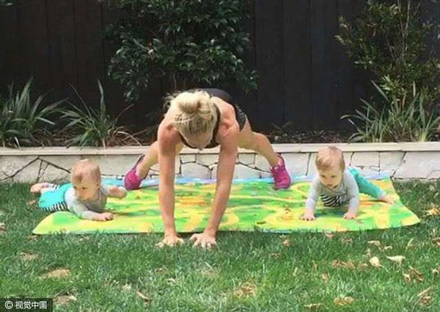 -Никакого пресса-: фитнес-модель показала, как ее фигура изменилась после родов