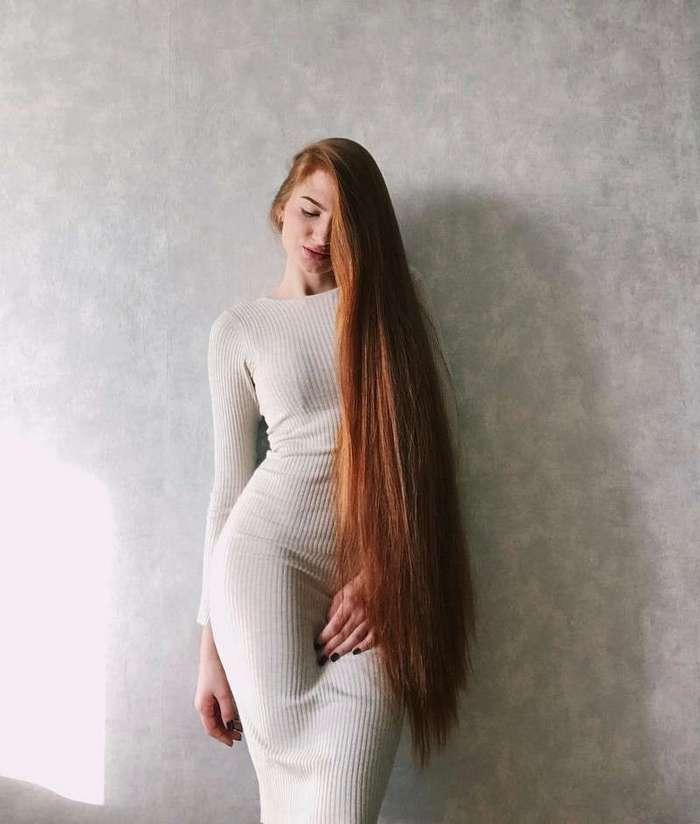Дорогая, я не фетишист, но на длинноволосых смотреть люблю