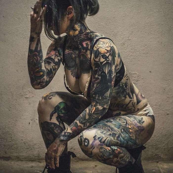 Тот момент когда татуировку замечаешь в последнюю очередь