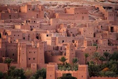 Укреплённый город Айт-Бен-Хадду (7 фото)