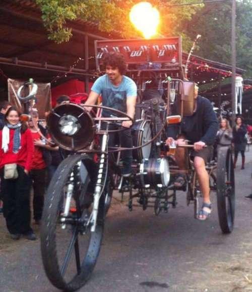 Необычные и прикольные велосипеды (29 фото)