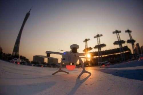 Компания Intel установила новый рекорд с помощью дронов (8 фото + видео)