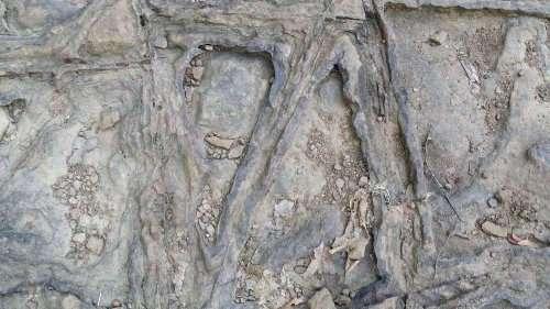 Загадка вафельной скалы
