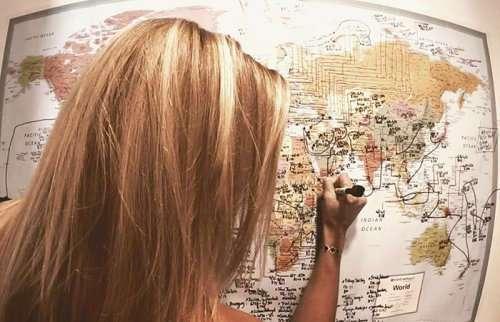 Молодая американка стала первой женщиной, побывавшей во всех странах мира