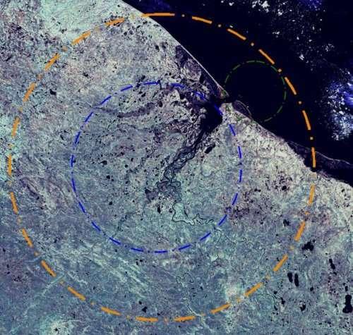 Топ-10: Крупнейшие метеоритные кратеры на планете