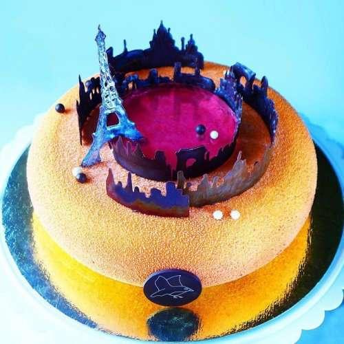 Архитектурные торты Марии Троицкой (18 фото)