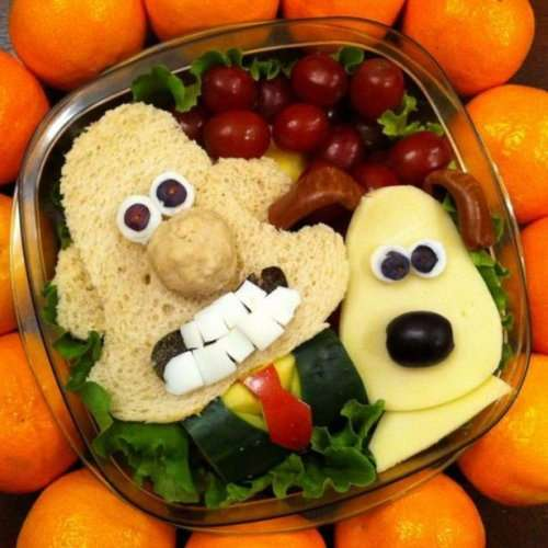 Уникальные и творческие завтраки, которые понравятся каждому ребёнку (17 фото)
