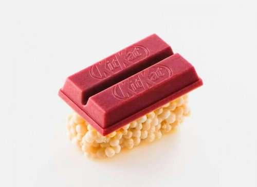 Специально для Японии: компания KitKat запустила производство сладких суши