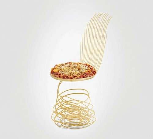 Эти необычные стулья подражают вашей любимой еде