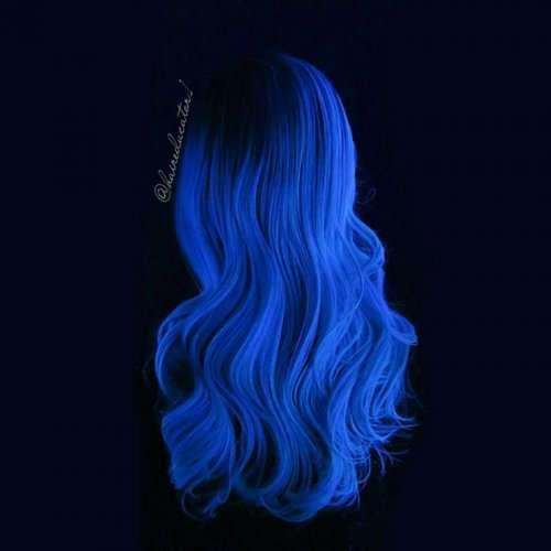 Новый тренд: светящиеся в темноте волосы (10 фото + видео)