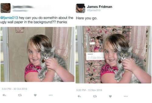 Фотошоп-троллинг от Джеймса Фридмана (27 фото)