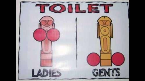 Прикольные и необычные таблички для туалетов (20 фото)