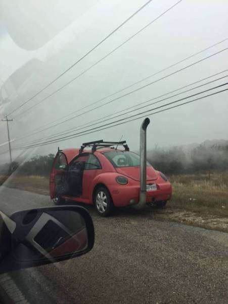 Автомобильный юмор (22 фото)