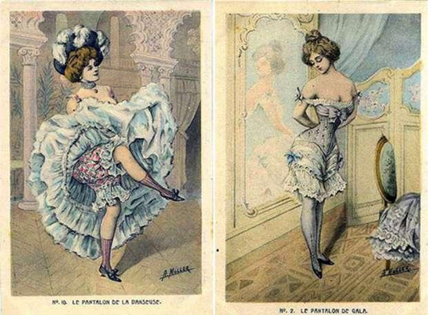 Малоизвестная история нижнего белья