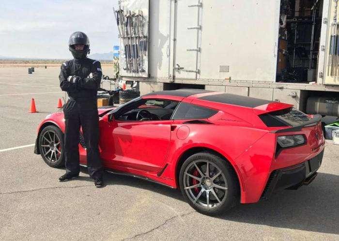 Универсал Chevrolet Corvette стал реальностью (7 фото)