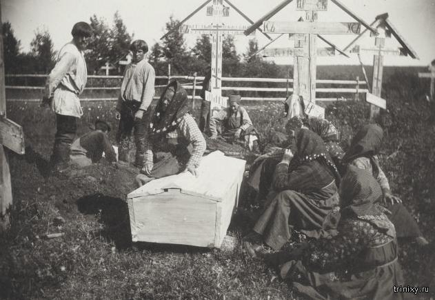 Люди и быт на севере России 1906 года (24 фото)