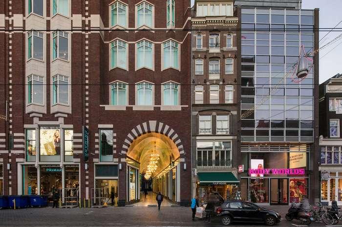 Amsterdam Oersoep — торговый пассаж в центре голландской столицы