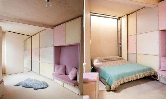 Жилище площадью всего 13 кв. метров, в котором есть все, что нужно для комфорта